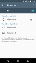Sony Xperia E5 (F3313) - Bluetooth - Conectar dispositivos a través de Bluetooth - Paso 8