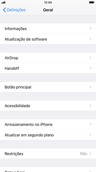 Apple iPhone 8 Plus - Aplicações - Desinstalar/remover aplicação -  4