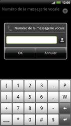 HTC X515m EVO 3D - Messagerie vocale - Configuration manuelle - Étape 7