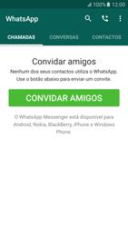 Samsung Galaxy S6 Android M - Aplicações - Como configurar o WhatsApp -  17