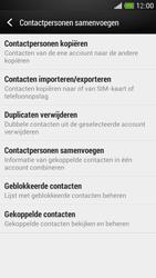 HTC One Mini - Contacten en data - Contacten kopiëren van toestel naar SIM - Stap 6