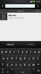 HTC One - MMS - envoi d'images - Étape 4