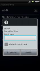 Sony Ericsson Xperia Arc - Wifi - configuration manuelle - Étape 7