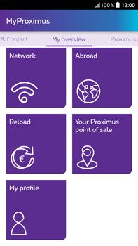 HTC Desire 825 - Applications - MyProximus - Step 19