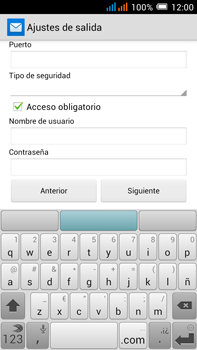 Alcatel Pop C9 - E-mail - Configurar correo electrónico - Paso 17