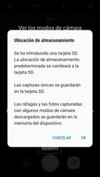 Samsung Galaxy S7 - Android Nougat - Funciones básicas - Uso de la camára - Paso 4