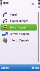 Nokia C6-00 - Messagerie vocale - configuration manuelle - Étape 6