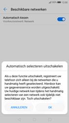 Huawei P10 - Netwerk - Handmatig een netwerk selecteren - Stap 7