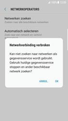 Samsung Galaxy S7 edge (SM-G935F) - Android Nougat - Netwerk selecteren - Handmatig een netwerk selecteren - Stap 9
