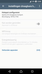 Sony Xperia XA - Android Nougat - WiFi - Mobiele hotspot instellen - Stap 7