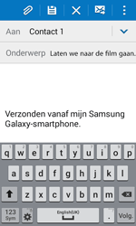 Samsung G388F Galaxy Xcover 3 - E-mail - E-mails verzenden - Stap 9