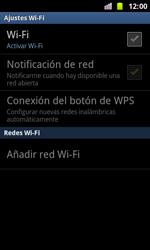 Samsung I8160 Galaxy Ace II - WiFi - Conectarse a una red WiFi - Paso 6