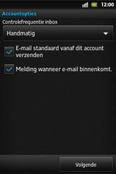 Sony ST27i Xperia Go - E-mail - e-mail instellen: POP3 - Stap 13