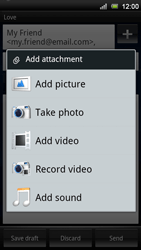 Sony Xperia Neo V - MMS - Sending pictures - Step 10