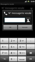 Sony ST25i Xperia U - Messagerie vocale - Configuration manuelle - Étape 7