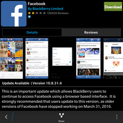 BlackBerry Passport - Applications - Downloading applications - Step 8