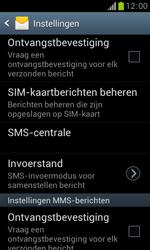 Samsung S7560 Galaxy Trend - SMS - Handmatig instellen - Stap 8