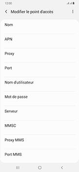 Samsung Galaxy A50 - MMS - configuration manuelle - Étape 11
