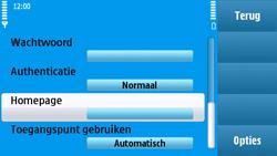 Nokia N97 - MMS - handmatig instellen - Stap 17