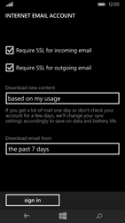 Nokia Lumia 735 - Email - Manual configuration POP3 with SMTP verification - Step 19