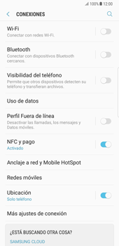 Samsung Galaxy Note 8 - WiFi - Conectarse a una red WiFi - Paso 5