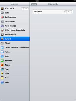 Apple iPad 2 - Bluetooth - Conectar dispositivos a través de Bluetooth - Paso 5