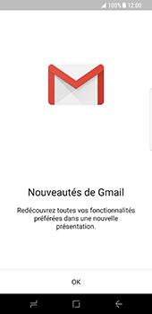 Samsung Galaxy S8 - E-mails - Ajouter ou modifier votre compte Gmail - Étape 5