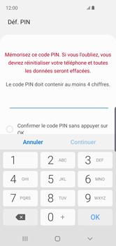 Samsung Galaxy S10e - Sécurité - activéz le code PIN de l'appareil - Étape 7