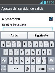 LG Optimus L3 II - E-mail - Configurar correo electrónico - Paso 15