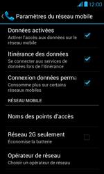 Bouygues Telecom Bs 401 - Internet et connexion - Désactiver la connexion Internet - Étape 6