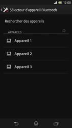 Sony Xpéria Z - Photos, vidéos, musique - Envoyer une photo via Bluetooth - Étape 11