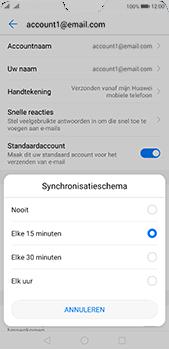 Huawei P20 Pro Dual-SIM (Model CLT-L29) - E-mail - Instellingen KPNMail controleren - Stap 8