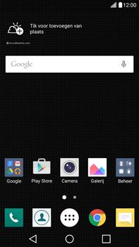 LG V10 - Voicemail - Handmatig instellen - Stap 1
