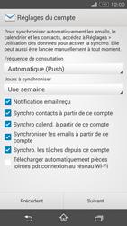 Sony Xperia Z3 Compact - E-mails - Ajouter ou modifier votre compte Outlook - Étape 8