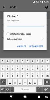 Sony Xperia XZ2 - Wi-Fi - Accéder au réseau Wi-Fi - Étape 8