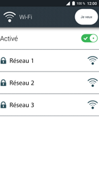Doro 8035 - Wi-Fi - Se connecter à un réseau Wi-Fi - Étape 7