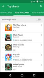 Sony Xperia XZ - Android Nougat - Aplicações - Como pesquisar e instalar aplicações -  8