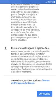 Samsung Galaxy S7 Edge - Android Oreo - Primeiros passos - Como ligar o telemóvel pela primeira vez -  14