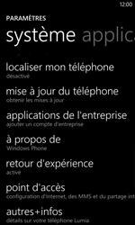 Nokia Lumia 1020 - Aller plus loin - Restaurer les paramètres d'usines - Étape 4
