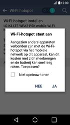 LG K4 - WiFi - Mobiele hotspot instellen - Stap 10
