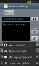 Samsung Galaxy Express - Contact, Appels, SMS/MMS - Envoyer un MMS - Étape 10