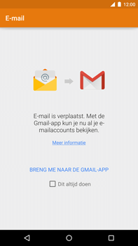 Motorola Nexus 6 - E-mail - Account instellen (IMAP met SMTP-verificatie) - Stap 5