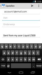 Acer Liquid Z500 - E-mail - e-mail versturen - Stap 4