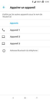 Alcatel 3L - Internet et connexion - Connexion avec un équipement multimédia via Bluetooth - Étape 9
