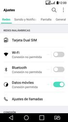 LG K4 (2017) - Internet - Activar o desactivar la conexión de datos - Paso 3