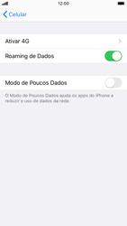Apple iPhone 7 - iOS 13 - Rede móvel - Como ativar e desativar o roaming de dados - Etapa 6