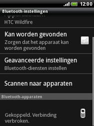 HTC A3333 Wildfire - Bluetooth - koppelen met ander apparaat - Stap 11