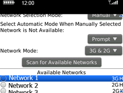 BlackBerry 9300 Curve 3G - Network - Usage across the border - Step 7