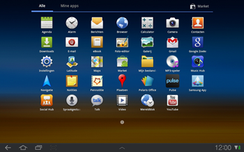 Samsung P7500 Galaxy Tab 10-1 - E-mail - hoe te versturen - Stap 3