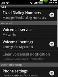 HTC A3333 Wildfire - Voicemail - Manual configuration - Step 5